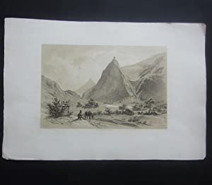 Kronburg Tyrol, Vallée de I Inn [published: Plate] Billmark, Carl