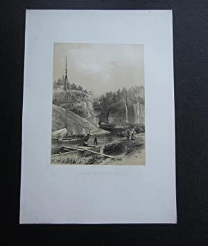 Slussar vid Trollhättan / Ecluses a Trollhättan: Plate] Billmark, Carl