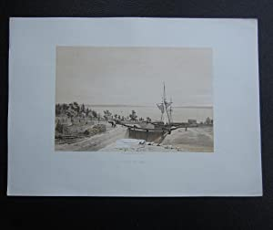 Slussar vid Berg / Ecluses a Berg: Plate] Billmark, Carl