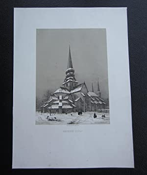 Warnhems kyrka / Eglise de Warnhem (Suéde): Plate] Billmark, Carl
