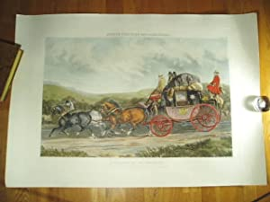 Pulling up to un-skid. From a picture: Colour plate] Henderson,
