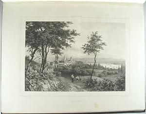 Rhenströmmen från Cöln till Mainz.Tjugo vuer tecknade: Plate book] Billmark,