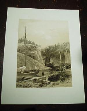 Écluses de Trollhättan (Suéde).: Plate] Billmark, [Carl