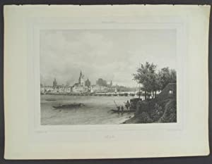 """Cöln. [Plate from """"Rhenströmmen by Carl Johan: Plate] Billmark, C."""