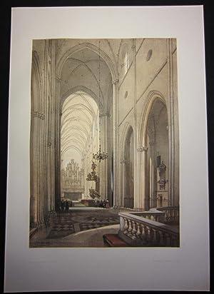 Domkyrkans stora skepp - Upsala / Grande: Colour plate] Billmark,