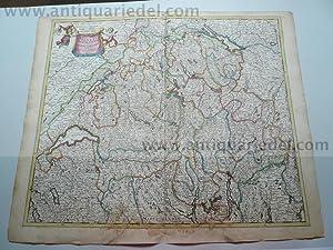 Helvetia, anno 1690, Danckerts J.: Danckerts Cornelis +