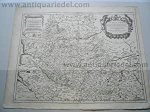 Artois, anno 1690, map H. Jaillot: Jaillot Alexis Hubert,