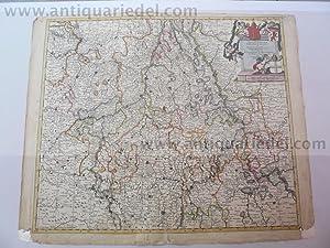 Leodiensis/Coloniensis, anno 1690, Danckerts, old colours: Danckerts Cornelis +
