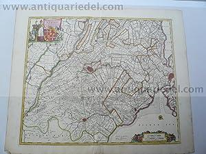 Utrecht, map, anno 1690, Danckerts J.: Danckerts Cornelis +