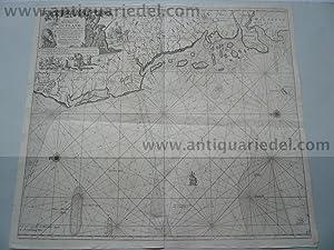 Jutland/North Frisian Islands, anno 1715, Van Keulen,: Keulen Johannes van