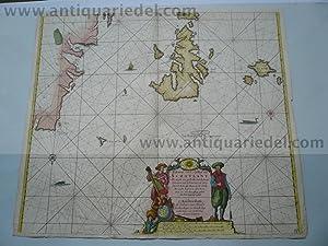 Scotland/Westcoast, anno 1712, J. van Keulen map,: Keulen Johannes van