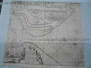 White Sea/Kola, map anno 1715, J. van: Keulen Johannes van