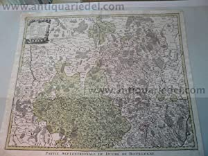 Bourgogne partie septentrionale, anno 1760, Lotter: Lotter C.T., 1717-1777
