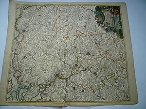 Brabantiae ducatus, map, anno 1680, Danckerts Justus,: Danckerts Cornelis +