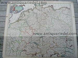 Deutschland-Europa, anno 1690, GA, Danckerts Justus: Danckerts Cornelis +