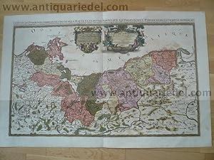 Duche de Pomeraniae, map, by Sanson-Jaillot, anno: Jaillot Alexis Hubert,