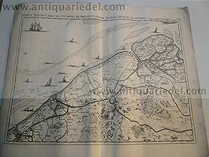Noord West-Vlaanderen, Bruges, anno 1712, map-Fricx: Fricx/Friex E.H., 1644-1730