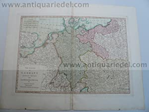 Germany with the Kingdom of Prussia, anno: Laurie&Whittle,London