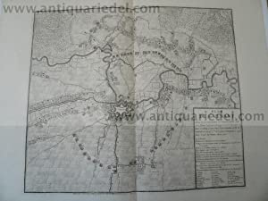 St.Venant-Plan, Capture of 1710, 2 maps, Fricx,anno: Fricx/Friex E.H., 1644-1730