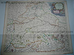 Circulus Bavaricus, J. Danckerts map, anno 1690: Danckerts Cornelis +