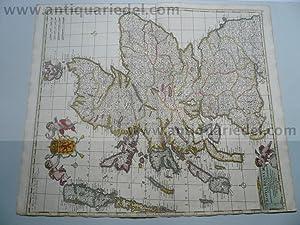 Scotia regnum, Map, F.de Wit anno 1690: Frederik de Wit