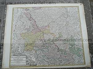 Rhein/Main/Mosellauf, anno 1760, Lotter T. C.: Lotter C.T., 1717-1777