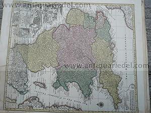 Britanniae sive Angliae Regnum, Lotter, anno 1760,: Lotter C.T., 1717-1777