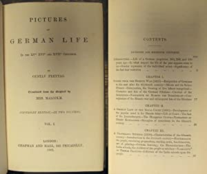 Pictures of German life in the XVth, XVIth and XVIIth centuries. Translated from the original by ...