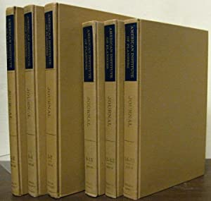Journal of the American Institute of Planners (Planners' Journal); vols 1-15; 1935-1949. Vols. ...
