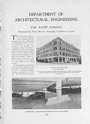 """Article: Department of Architectural Engineering - """"The Ramp Garage"""" Illustrated by Three..."""