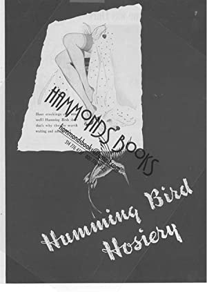 Womens Fashion Advertisement for Humming Bird Hosiery: Mademoiselle Magazine editors