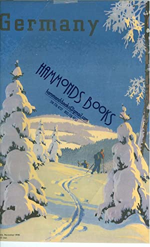 """Germany Magazine Cover Page """"Winter in Germany"""" by Edwin Henel: The Reich Committee For ..."""