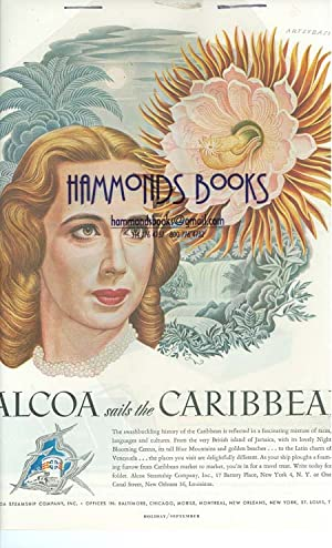 Advertisement for Alcoa Steamship Company; Illustration by Artzybasheff: Holiday Magazine editors