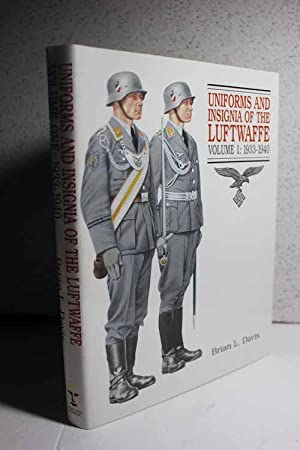 brian davis - uniforms and insignia of the luftwaffe - AbeBooks