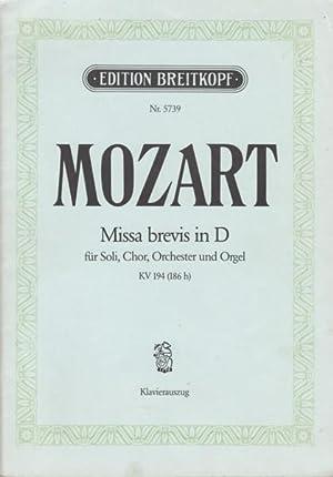 Missa Brevis in D, K.194 - Vocal: Mozart, Wolfgang Amadeus