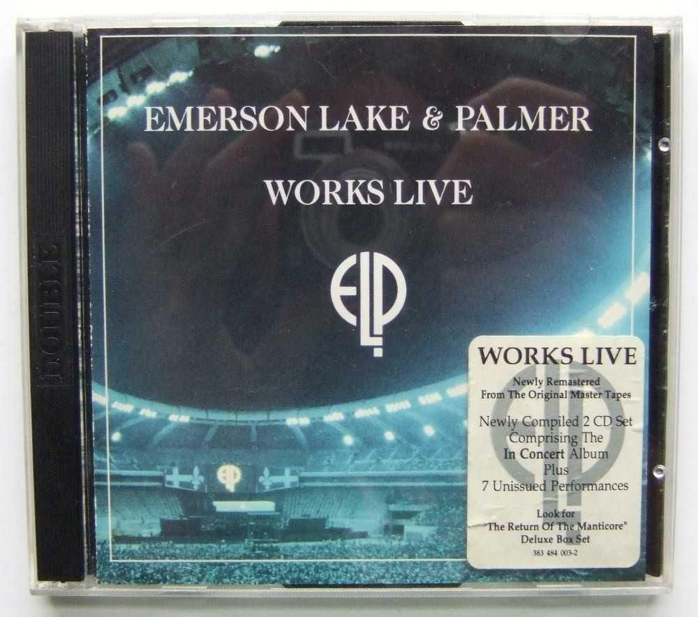 Works Live [CD] by Emerson, Lake & Palmer: Victory AudioCD - Hang