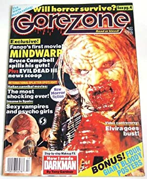 Gorezone #17 (Spring, 1991): Anthony Timpone; J.
