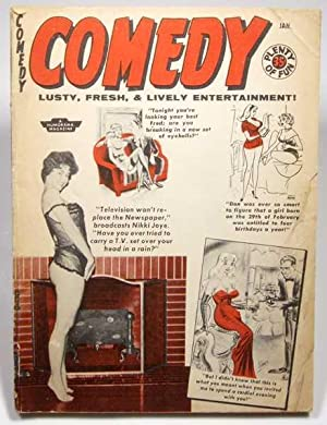 Comedy: Lusty, Fresh, & Lively Entertainment (Volume 8, #45, January 1959)