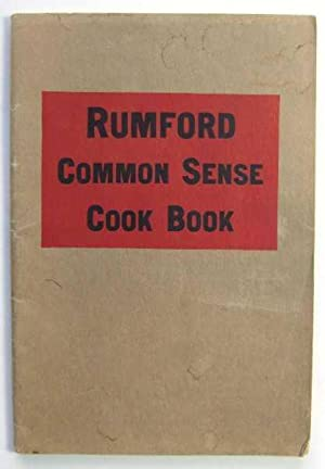 Rumford Common Sense Cook Book (Promotional Cook Book)