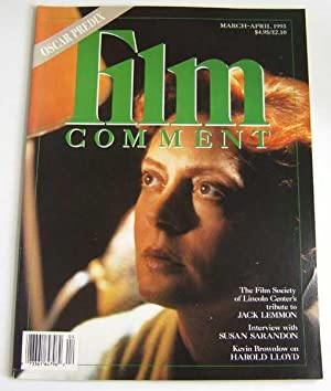 Film Comment (March-April 1993, Volume 29, #2): Editors; Susan Sarandon;