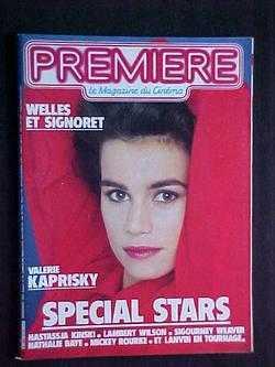 Premiere: Le Magazine du Cinema, No. 104: editors; Valerie Kaprisky;