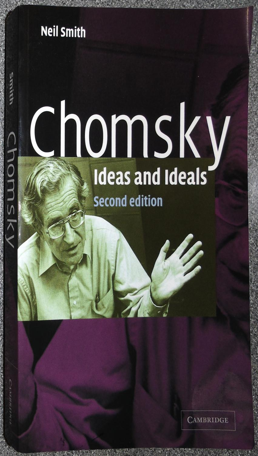Chomsky Ideas Ideals By Smith Neil