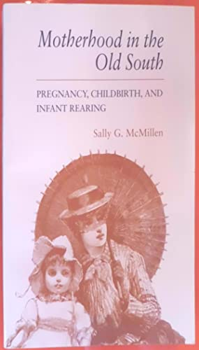 Motherhood in the Old South: Pregnancy, Childbirth and Infant Rearing