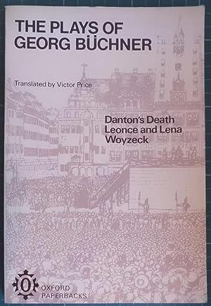 The Plays of Georg Büchner: Danton's Death;: Buchner, Georg