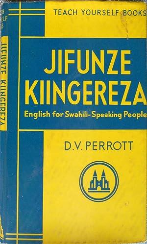 Jifunze Kiingereza, Teach Yourself English for Swahili: Perrott, D.V.