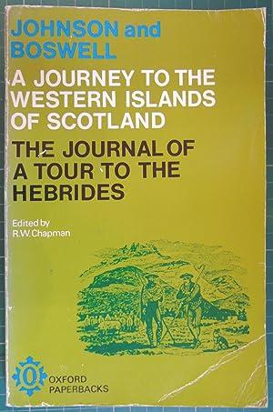 Johnson's Journey to the Western Islands of: Samuel Johnson; James