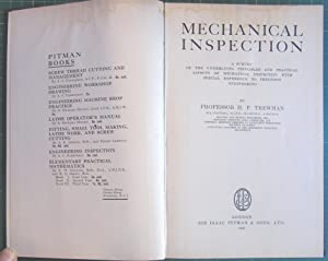Mechanical Inspection: Professor H F