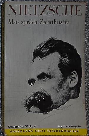 Also Sprach Zarathustra: Nietzsche