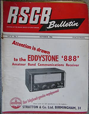 RSGB. Bulletin Volume 32 No.4 October 1956