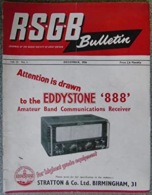 RSGB. Bulletin Volume 32 No.6 December 1956